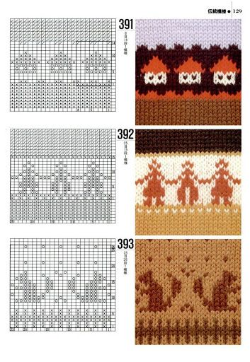 Excellent link! So many charts for knitting and crochet!(1000 - Donna Taylor - Picasa Web Albums)