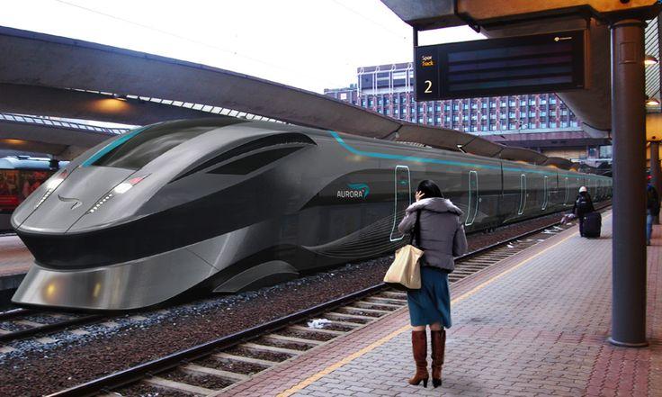High Speed Train Concept Google Search Futuristic