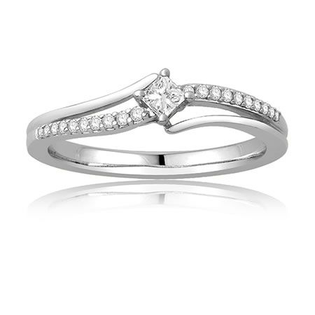 14 best Princess cut promise rings images on Pinterest ...