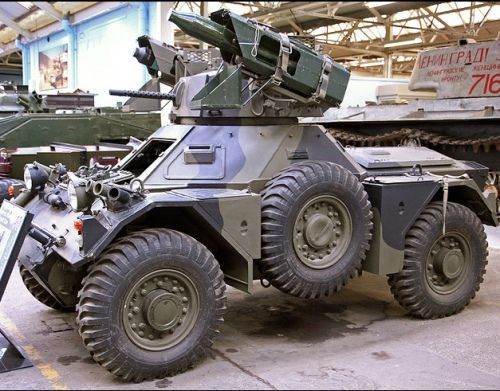 Ferret Scout Car with ATGW of unknown type - possibly SS-11