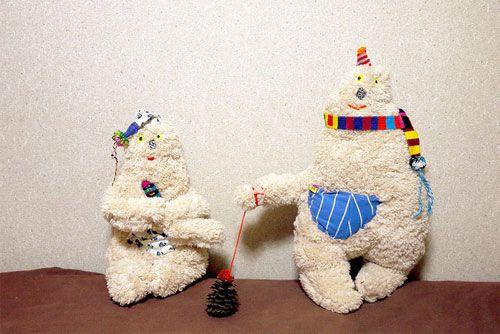 Adorable stuffed things by Mogu Takashi