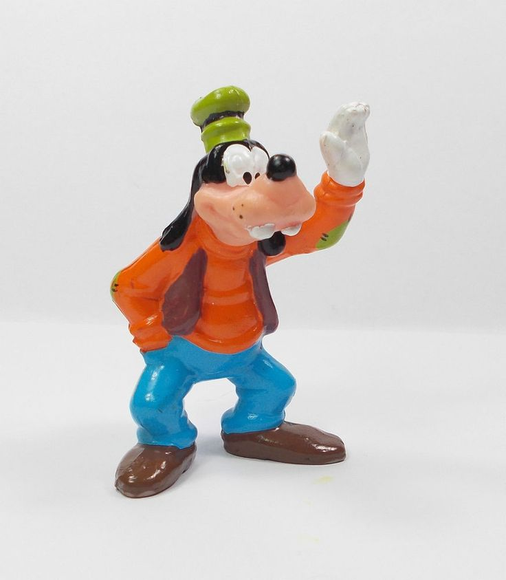 Mickey Mouse - Goofy - Toy Figure - Disney - Cake Topper 4