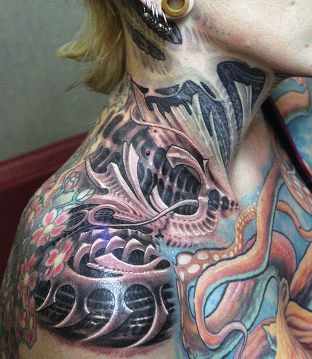 657 best images about ripped skin thru skin tattoos on for Organic tattoo ink