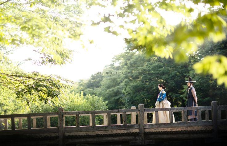 WeddingRitz, 그레이스케일, 한복, 한복 웨딩촬영, 윤의한복, 한국민속촌