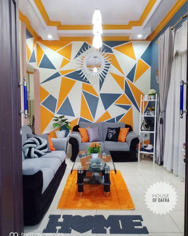 16+ Contoh Warna Cat Tembok Ruang Tamu Yang Bagus 2020 di ...
