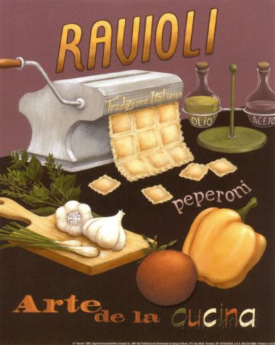 Ravioli Prints by Daphne Brissonnet at AllPosters.com