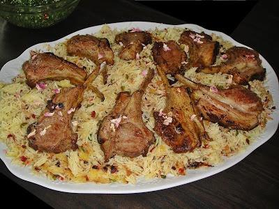Maryam's Culinary Wonders: 334. Simple Roasted Rack of Lamb
