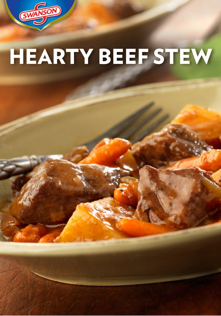 Aside from the exquisite taste, the best thing about this Hearty Beef Stew is that it's quick and easy. All of its delicious flavors simply simmer together on the stove until done.
