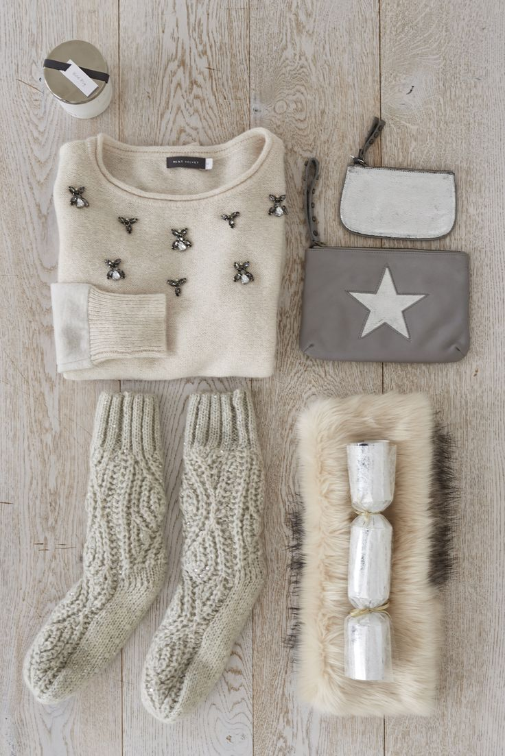 Chunky knits and fluffy accessories are our Winter essentials. #ChristmasWishes