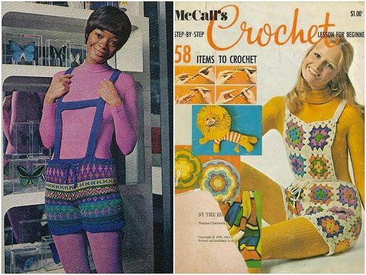 Vintage jaren 70 kleding