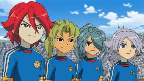 Hiroto, Jordan, Kazemaru and Shown