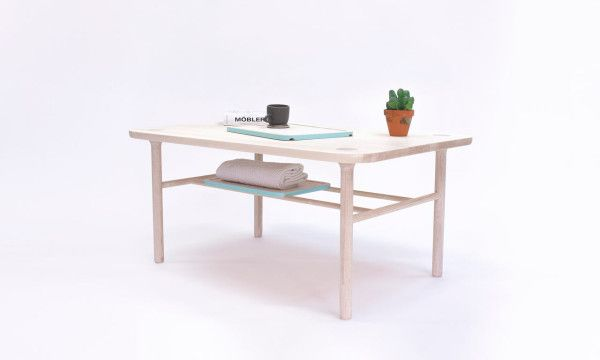 Storage Furniture with Culturally Mixed Influences - Design Milk. Beautiful table for your home.