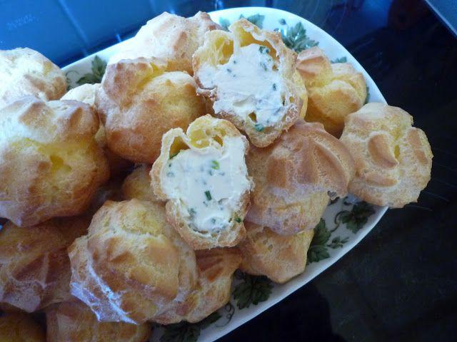 FLAPRET: Sajtkrémes égetett tészta