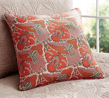 indira print dec pillow cover potterybarn decorative couch