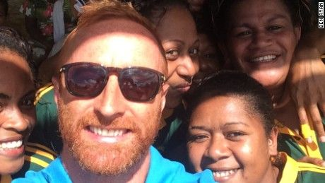 When Ben Ryan left England to take up a seemingly idyllic job in Fiji, he had no idea his rugby success would attract the attention of Hollywood movie makers.
