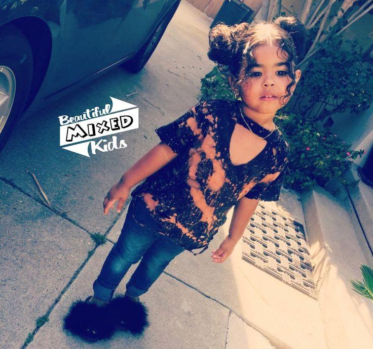Arianna - 3 Years • Mexican, Cuban & African American ♥️ FOLLOW @BEAUTIFULMIXEDKIDS http://instagram.com/beautifulmixedkids