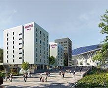 Réalisation d'un hôtel sur le Parc Olympique Lyonnais à Décines-Charpieu (69)