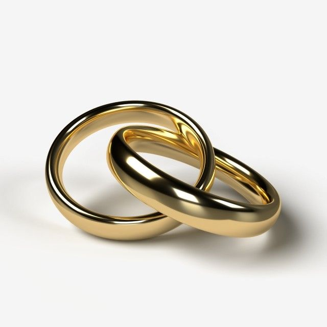 A Pair Of Beautiful Golden Wedding Rings On A Transparent Background Wedding Clipart Holiday Romantic Png Transparent Clipart Image And Psd File For Free Dow In 2020 Wedding Ring Clipart Wedding