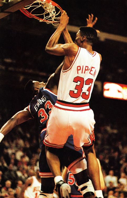 One of the most versatile and talented players, 6-7 Scottie Pippen orchestrated an offense like a point guard, rebounded like a power forward, scored like a shooting guard, and defended on the perimeter like few others. The seven-time All-Star was a vital component of the Chicago Bulls' six NBA Championships in the 1990s. As the second-best player on the championship Bulls team to perhaps the greatest player to lace up a pair of sneakers - Michael Jordan, Pippen may never get his due.