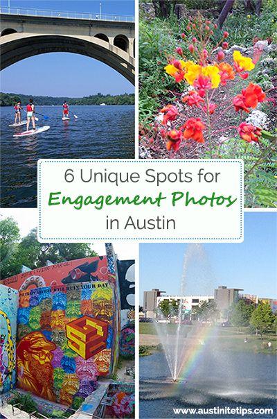 6 Unique Spots for Engagement Photos in Austin | http://austinitetips.com