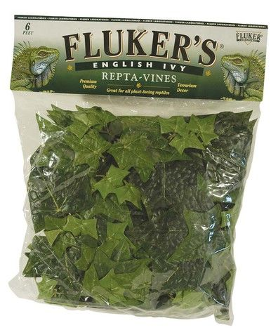 Fluker's Repta-Vines English Ivy 6ft Natural-looking Hanging Non Toxic Material