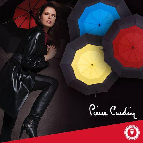 Pierre Cardin şemsiyeler ile puslu kış günlerine renk katın! PIERRE CARDIN UMBRELLA SERIES - Sanada Bu Yakışır