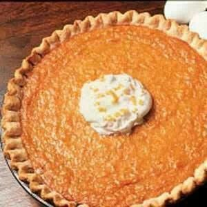 Sweet Potato Pie  (from scratch!)
