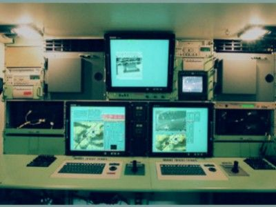 Tactical Ground Control Station Interior