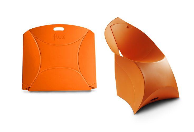 Flux Chair - Dutch designed foldable chair.