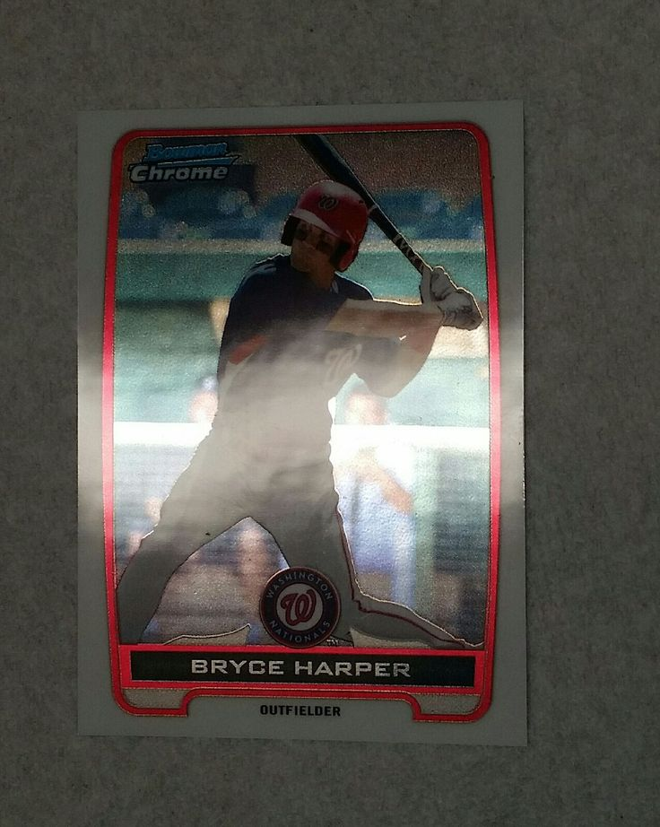2012 Bowman Chrome Prospects Bryce Harper ROOKIE CARD BCP10 Graded 9.5 Mint+