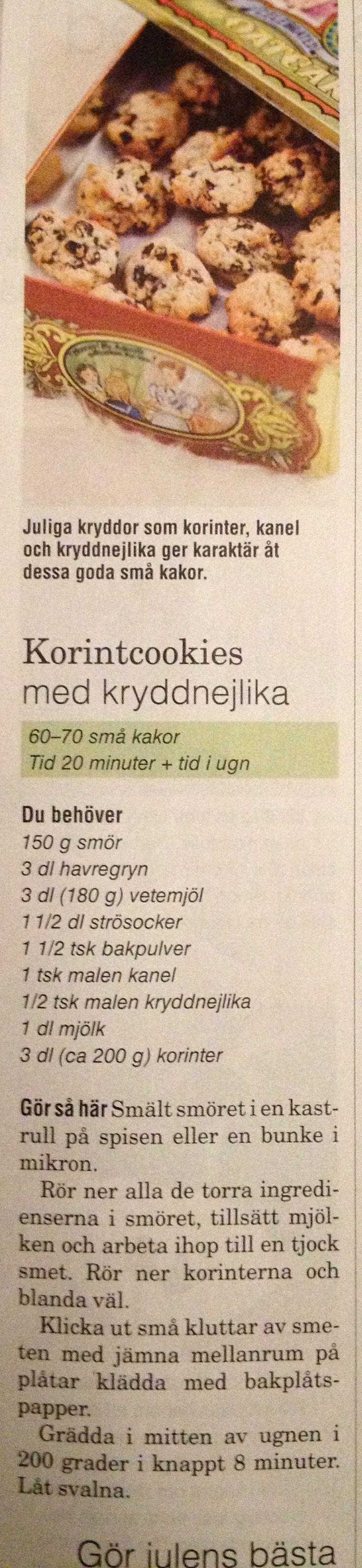 Korintcookies