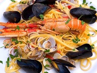 #Spaghetti allo #scoglio by @Caffé Millennium