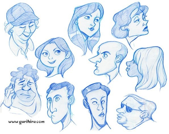 Character Development In Design : Best how to draw the head and face images on pinterest