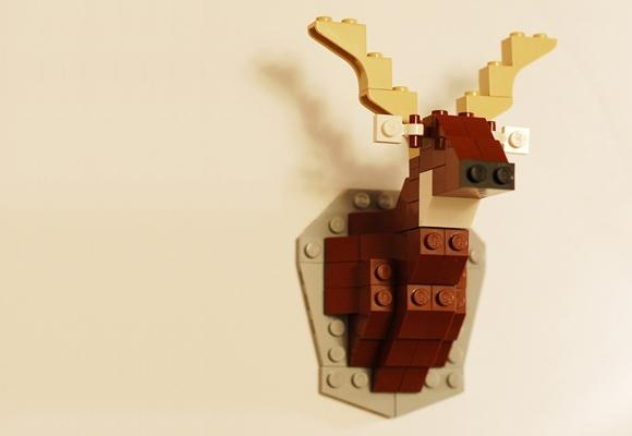 Taxidermy lego