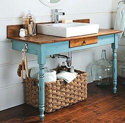 Repurposed Furniture for your Bathroom (2)