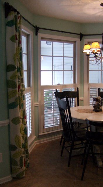 17 best ideas about window curtain rods on pinterest bay window drapes bay window curtain rod. Black Bedroom Furniture Sets. Home Design Ideas