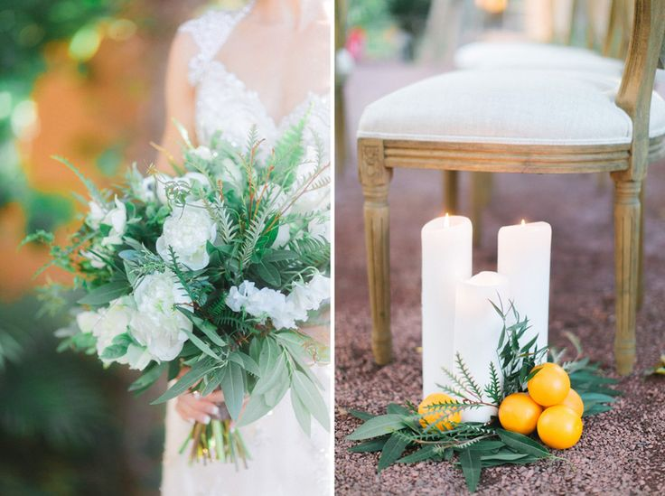 Orange green and blue wedding inspiration in Arizona. Phoenix Bride and Groom Floral: Flower Bar :: Furniture Rentals: Glamour & Woods :: Photography: Andrew Jade Photography :: Wedding Planner/Designer: Events by Stephanie Antointette :: Venue: Royal Palms Resort :: Stationery: Vee Creative :: Cake & Macarons: Ruze Cake House :: China: Tea Crockery :: Wedding Gown: Uptown Bridal :: Groom's Suit: Celebrity Tux & Tails Arizona Wedding Inspiration