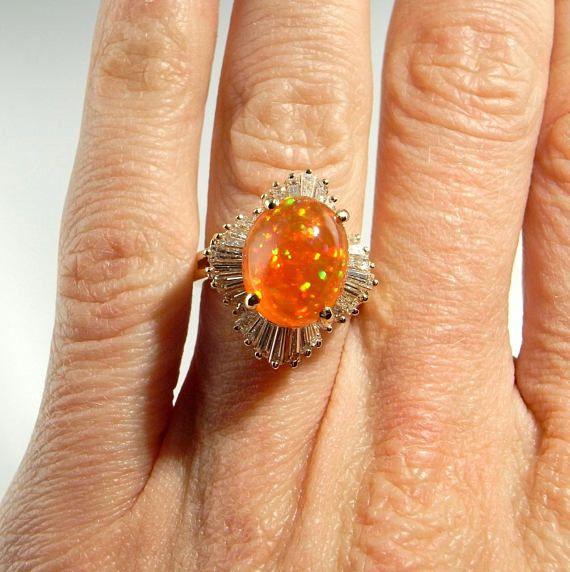 Orange Opla Ring
