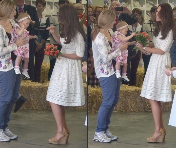It's an Australian Label for the Duchess at Royal Easter Show, Hospice Visit & Manly Beach » What Kate Wore