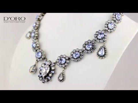 D'ORO Jewellery Biżuteria Częstochowa KOLIA - YouTube