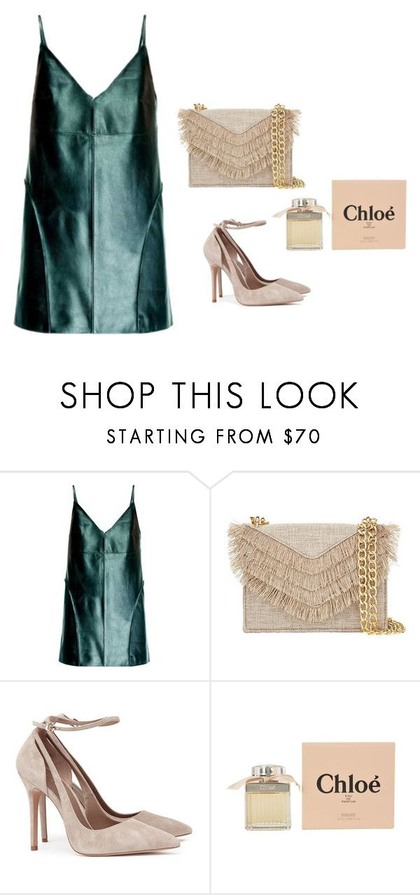"""Untitled #32"" by amilaalicic ❤ liked on Polyvore featuring Leka, Cynthia Rowley and Chloé"