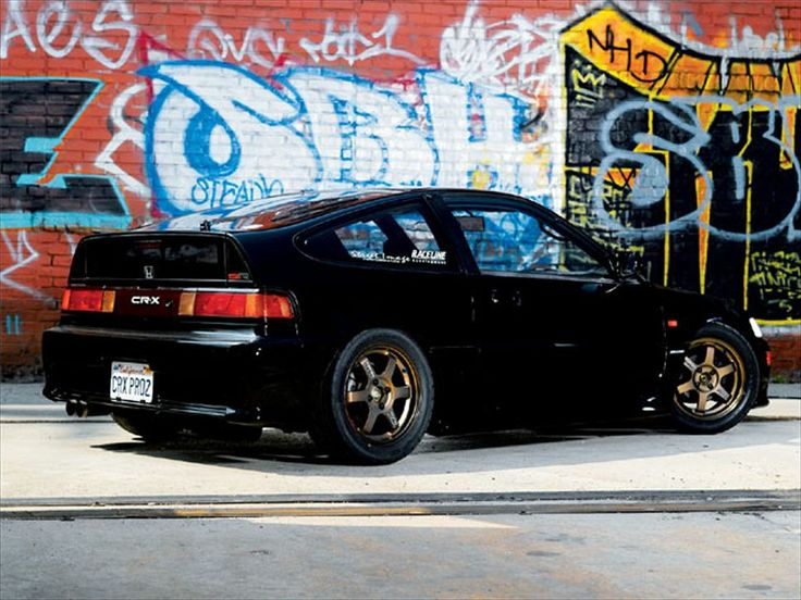 1991 Honda Crx Si Side View Photo 1 #CRX #Honda #Rvinyl =========================== http://www.rvinyl.com/Honda-Accessories.html