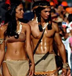 A study funded by the U.S. National Science Foundation years back, shows (averages) that 61 percent of all Puerto Ricans have Amerindian mitochondrial DNA, 27 percent have African and 12 percent Caucasian.