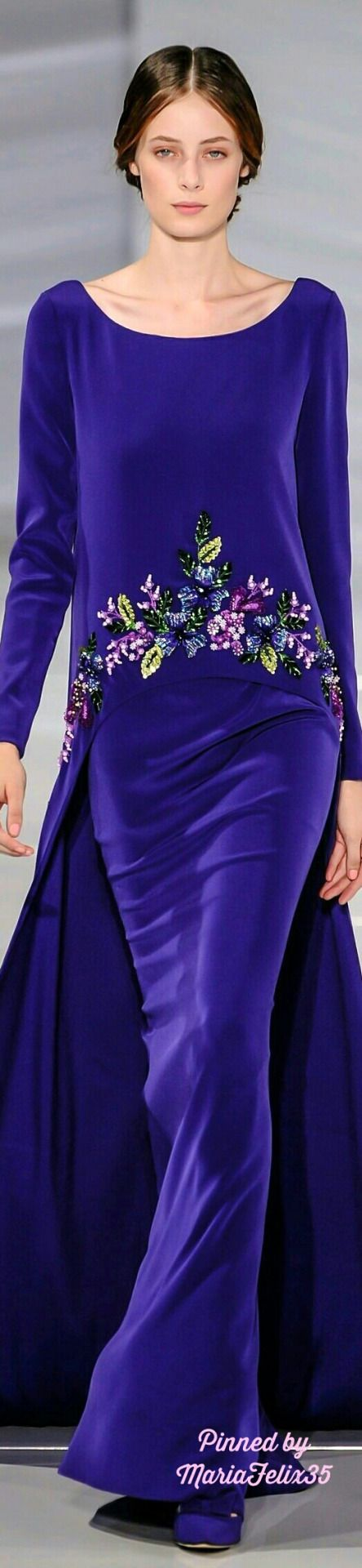 Georges Hobeika Fall Haute Couture Collection Highlights 2015