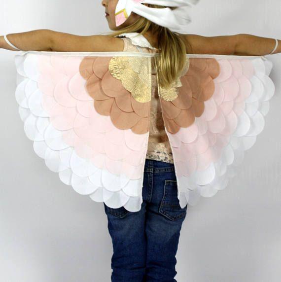 The Bird Wings Handmade Children's Costume