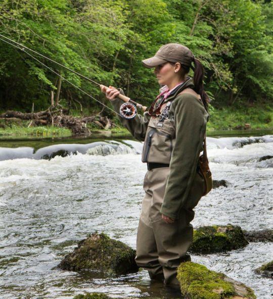 Best 25 women fishing ideas on pinterest women 39 s for Best trout fishing near me