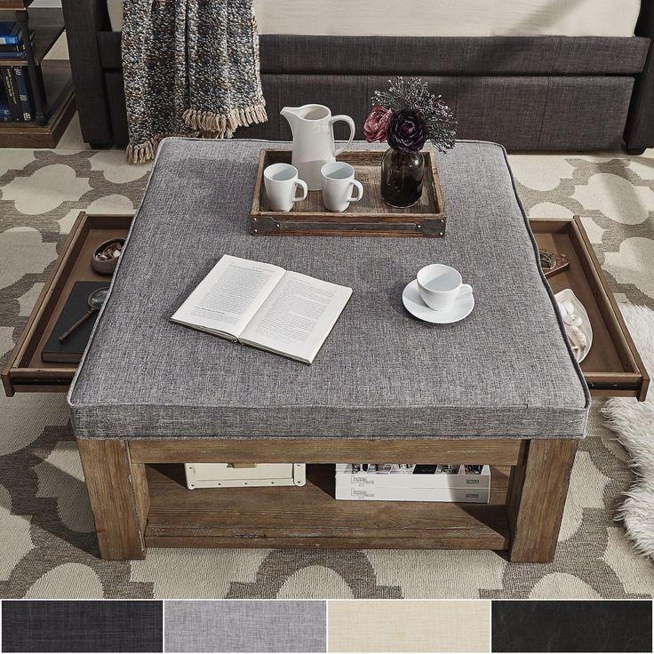 Best 25 Storage Ottoman Coffee Table Ideas On Pinterest Diy Storage Ottoman Coffee Table