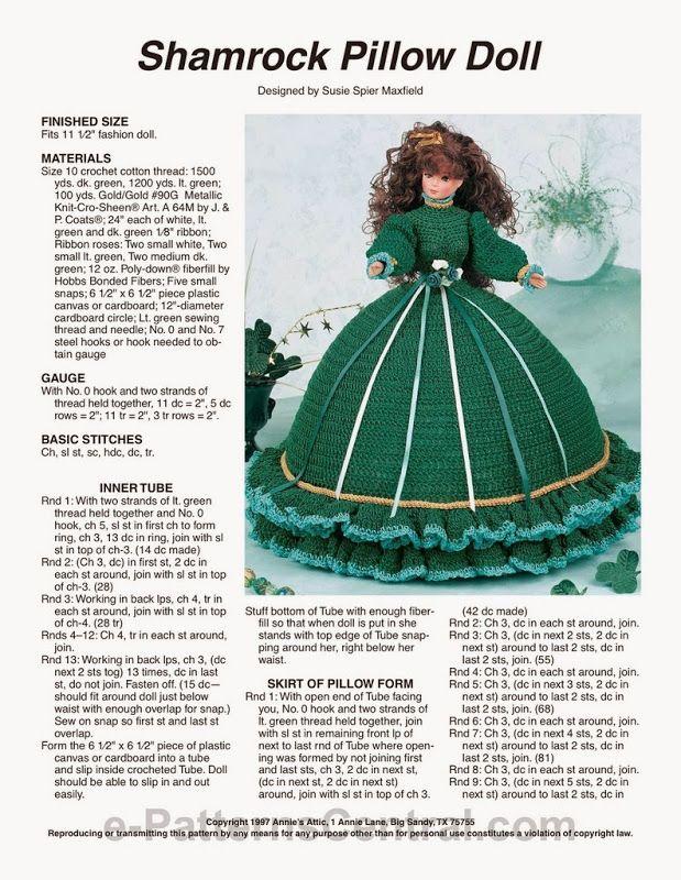 18 besten Puppenkleider Bilder auf Pinterest | Stricken und häkeln ...