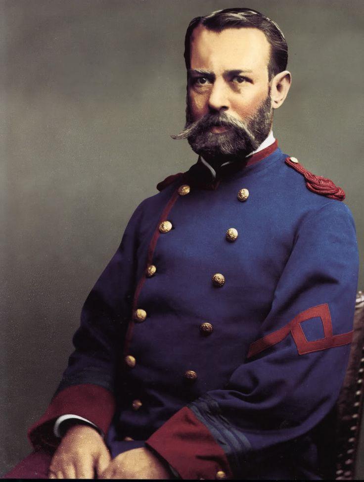 Capitan R.E. Vergara del Regimiento Civico Movilizado  Talca