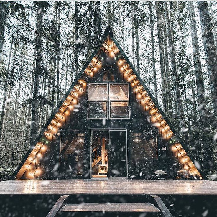733 best A-frames images on Pinterest | Wood homes, Wood houses and ...